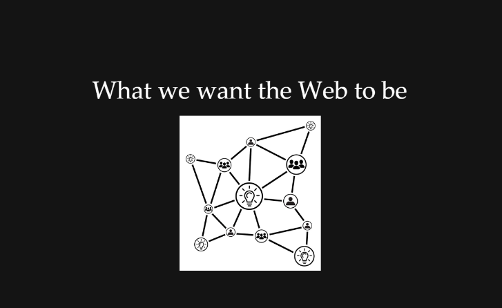 Goal of the web diagram